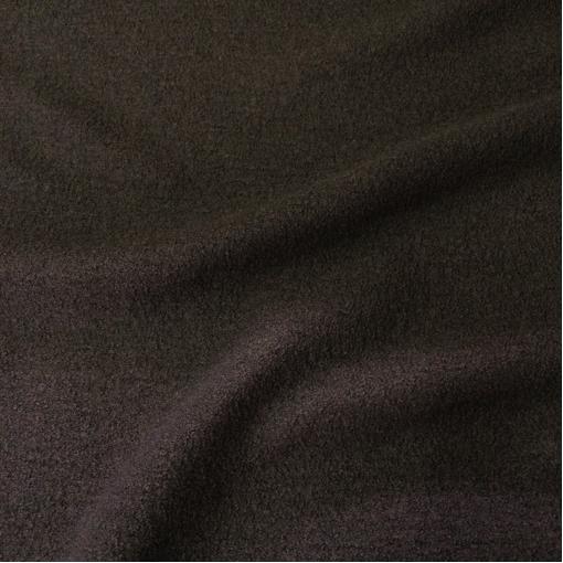 Лоден шерстяной цвета горького шоколада