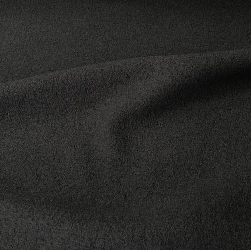 Лоден шерстяной черного цвета