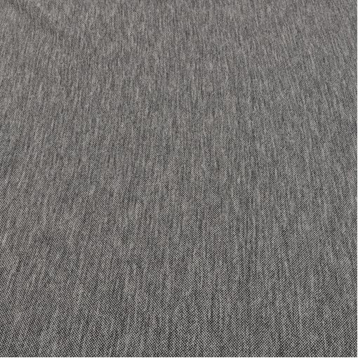 Шерстяной вязанный трикотаж серый меланж