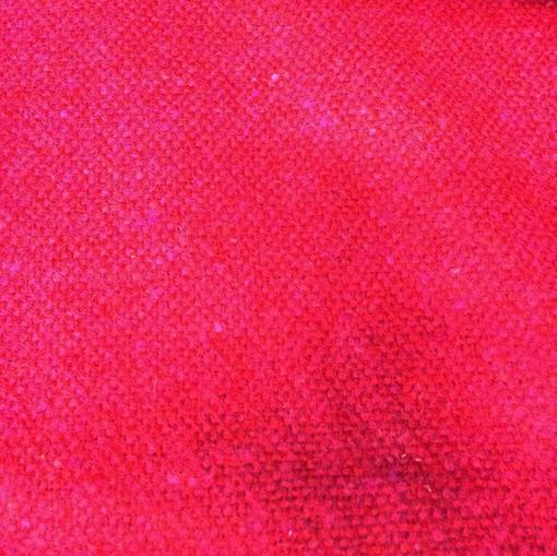 Твид пальтово-костюмный шерстяной рогожка в малиново-сиреневой гамме