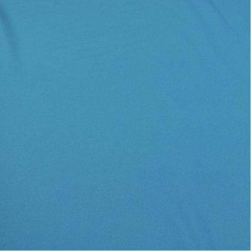 Костюмная шерстяная ткань бирюзово-голубая