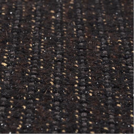 Шанель коричневая с черной люрексовой нитью