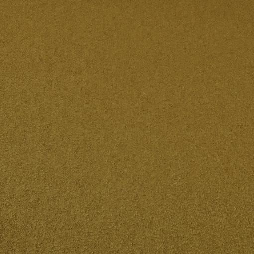 Теплая мягкая шерсть типа букле золотисто-табачного цвета