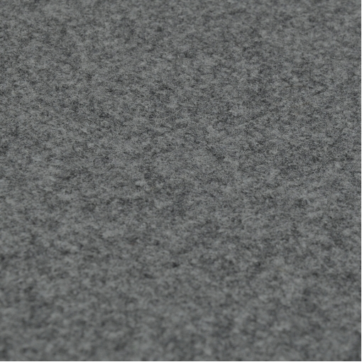 Серая стрейчевая пальтовая ткань типа лодена