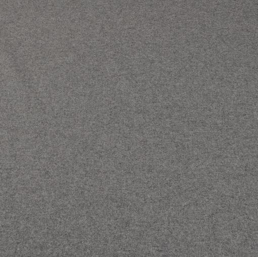Средне-серая мягкая пальтово-костюмная ткань типа сукна