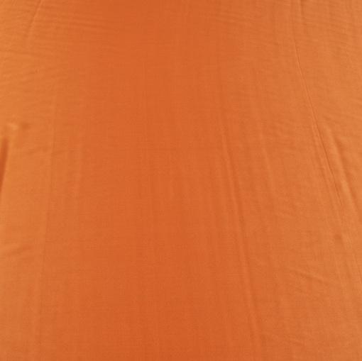 Шелк атласный рыже-коричневый