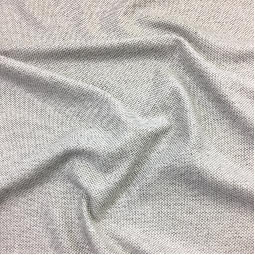 Твид костюмный стрейч дизайн Pinko в серую крапинку с люрексом