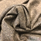 Твид костюмный шерстяной песочно-коричневая крапинка
