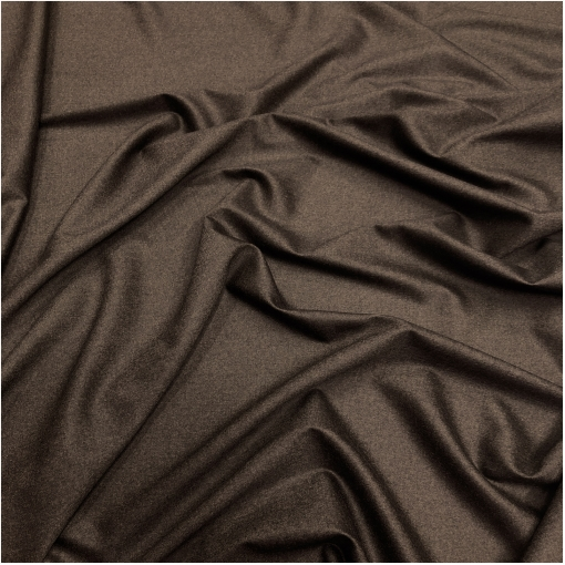 Ткань костюмная шерстяная комфорт диагональ цвета шоколада