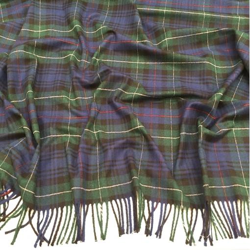 Ткань пальтовая дизайн Burberry купон с бахромой