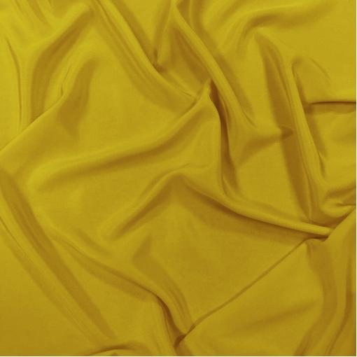 Шелк креповый желто-лаймового цвета