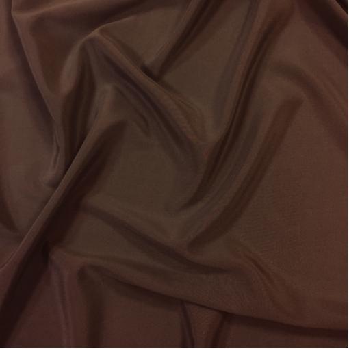 Шелк креповый шоколадного цвета