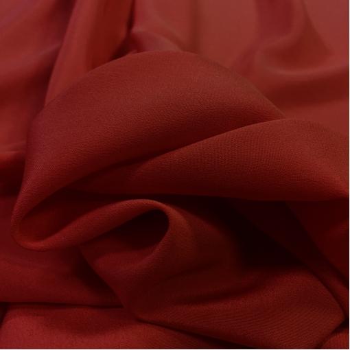 Шелк креповый бордового цвета
