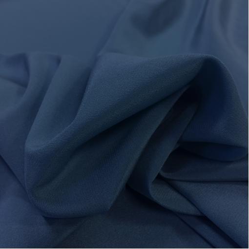 Шелк креповый сине-сиреневого цвета