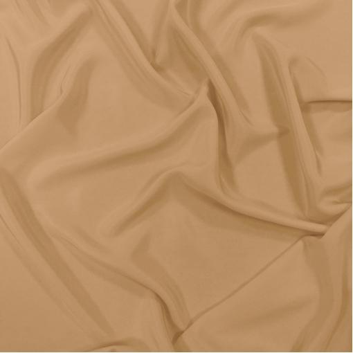 Шелк креповый непрозрачный цвета ванильного марципана