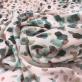 Вискоза креповая плательная принт Prada мазки на пудровом фоне