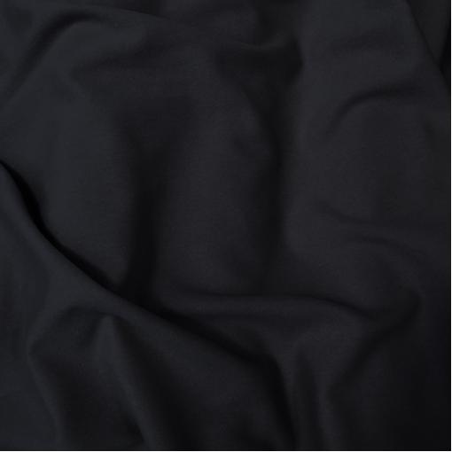 Ткань пальтовая стрейч темно-синего цвета