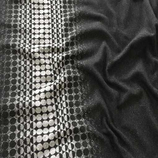 Ткань пальтовая двухсторонняя купон Gucci купон с геометрией