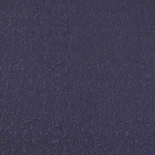 Костюмно-пальтовый жаккард чернильного цвета
