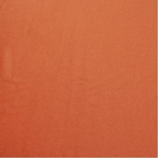 Пальтовая ткань морковного цвета с кашемиром