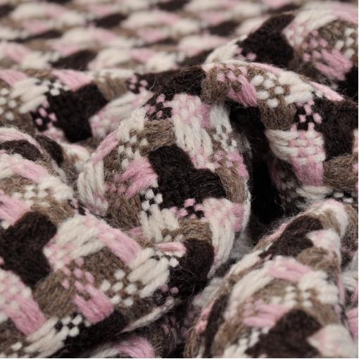 Пальтово-костюмная шерсть типа шанель