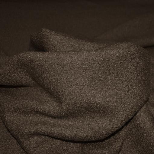 Букле костюмно-пальтовое шоколадный цвет
