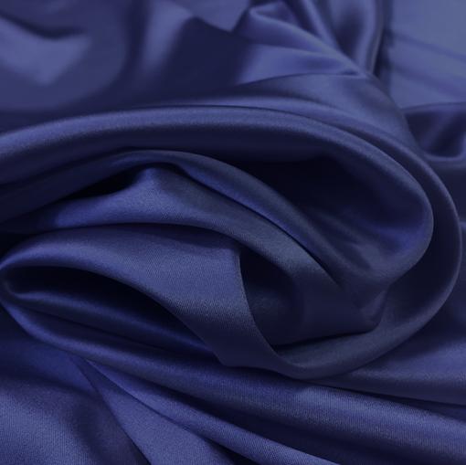 Шелк креповый матовый полупрозрачный фиолетовый