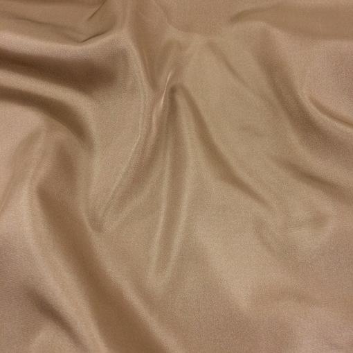 Шелк костюмный золотисто-бежевого цвета