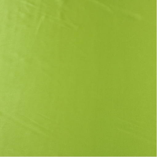 Шелк атлас плательно-костюмный цвета лайма