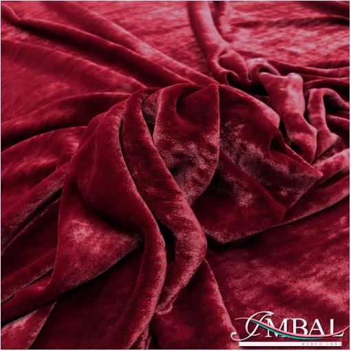 Панбархат на шелковой основе цвета темного рубина