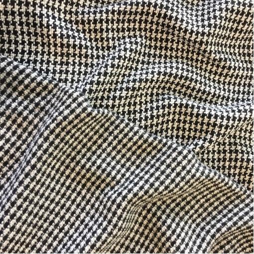Шанель нарядная шерстяная комфорт Louis Vuitton черно-белый пье-де-пуль