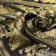 Жаккард нарядный принт Versace с золотыми вензелями