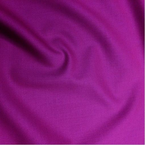 Ткань костюмная шерстяная стрейч Valentino цвета фуксия с отливом