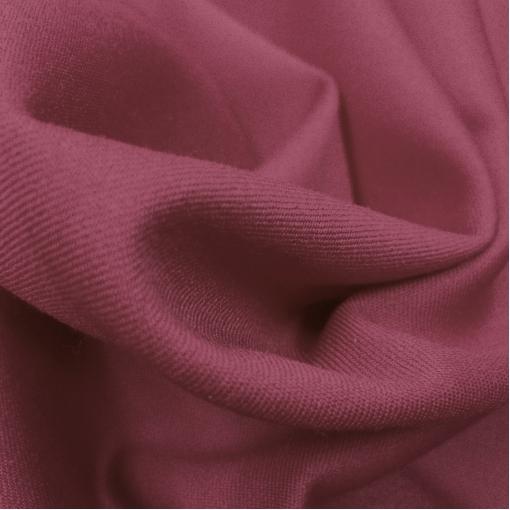Ткань костюмная шерстяная стрейч Valentino с отливом цвета малины со сливками
