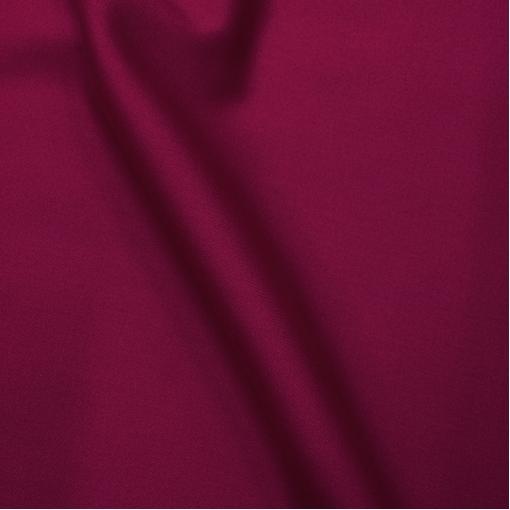 Ткань костюмная шерстяная стрейч Valentino цвета темной фуксии с отливом