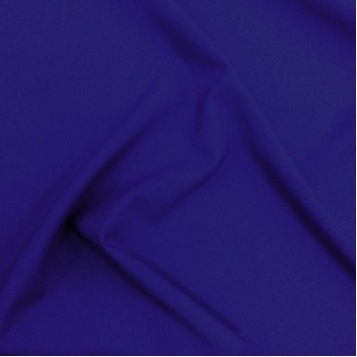 Ткань костюмная шерстяная стрейч Valentino цвета электрик с отливом