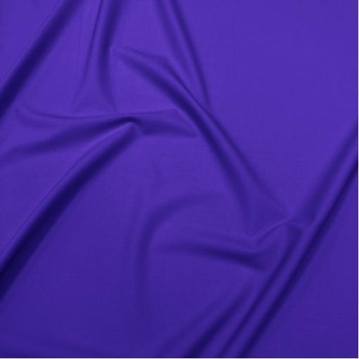 Ткань костюмная шерстяная стрейч дизайн Valentino цвета яркий электрик