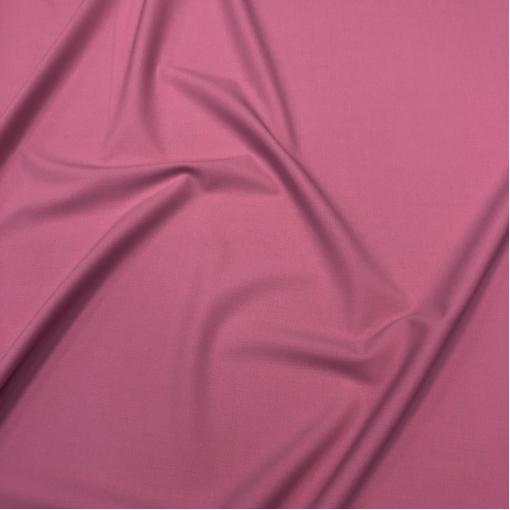 Шерсть костюмная стрейч дизайн Valentino насыщенного розового цвета с сиреневым отливом