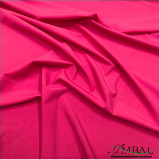 Ткань костюмная шерстяная стрейч дизайн Valentino цвета спелой малины