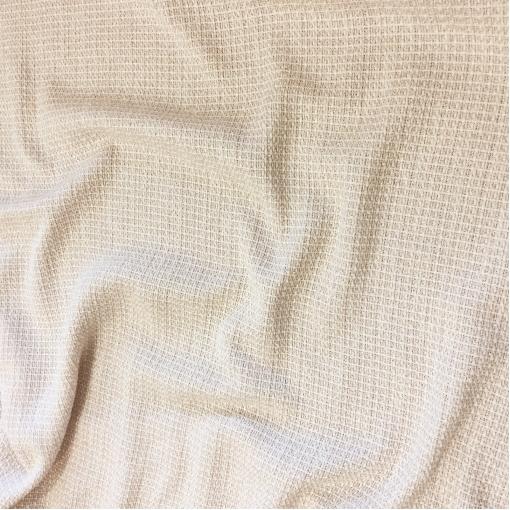 Шанель нарядная хлопок со льном летняя жемчужно-молочного цвета