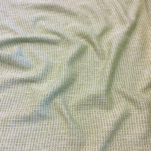 Шанель нарядная хлопок со льном летняя оливково-фисташкового цвета