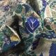Жаккард нарядный принт Ferragamo абстракция с люрексом