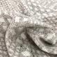 Шанель нарядная вискозная на молочном фоне цветные пастельные вкрапления