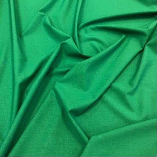 Шерсть костюмная стрейч Valentino цвета яркой весенней зелени