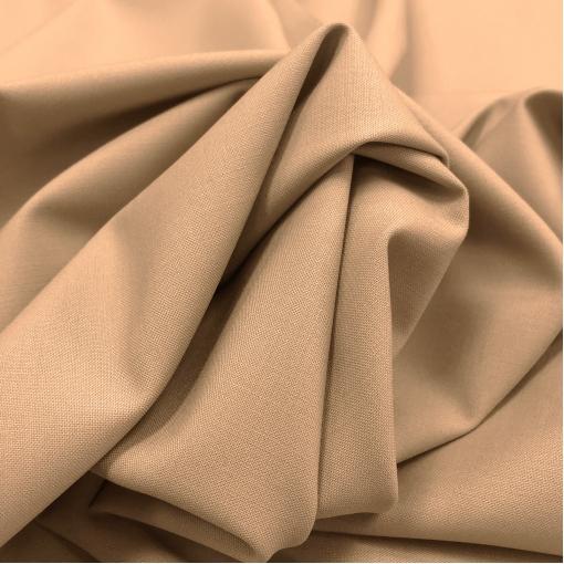 Шерсть костюмная стрейч Valentino тёплого песочного цвета