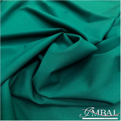 Ткань костюмная шерстяная стрейч Valentino цвета тенистая ель