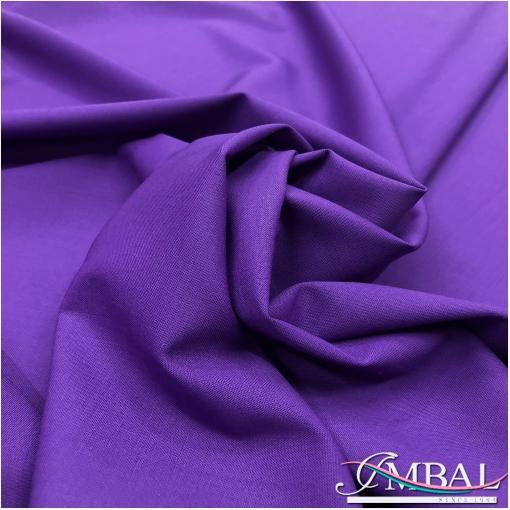 Ткань костюмная шерстяная стрейч Valentino сиренево-виноградного цвета