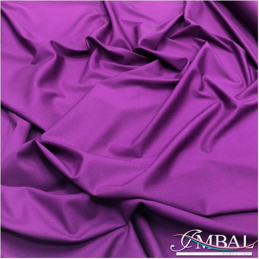Ткань костюмная шерстяная стрейч Valentino пурпурно-сиреневого цвета