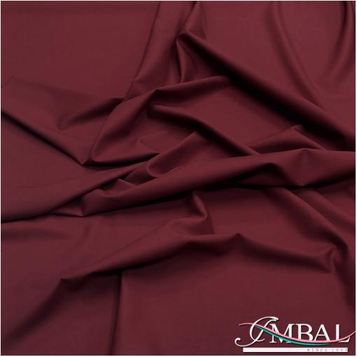 Ткань костюмная шерстяная стрейч Valentino темно-бордового цвета