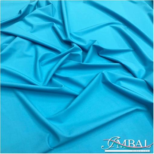 Ткань костюмная шерстяная стрейч Valentino небесно-голубого цвета